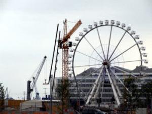 Riesenrad Hamburg Hafencity