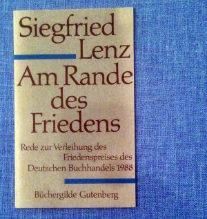 friedenspreis des deutschen buchhandels