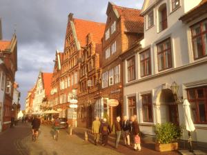 lüneburg heiligengeiststrasse in der altstadt