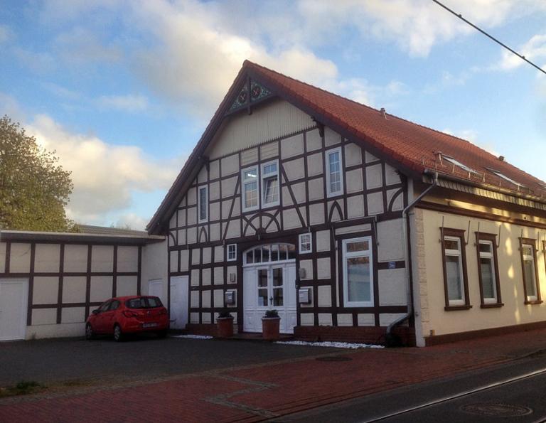 Ortsdurchfahrt Richtung Bremen