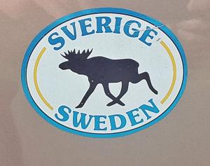 Elch Aufkleber aus Schweden
