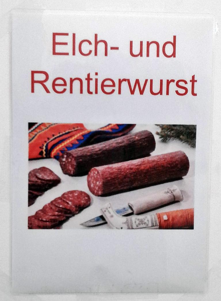Elchwurst und Rentierwurst kaufen
