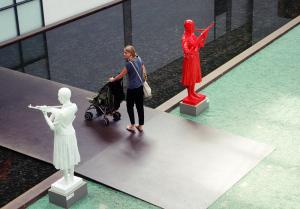 Kunstausstellung in der Carlshütte