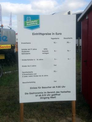 Tarmstedter Ausstellung Eintrittspreise und Öffnungszeiten