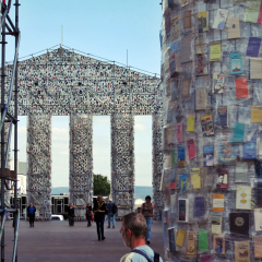 d14 documenta KasselPparthenon der Bücher