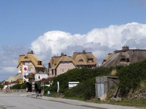 Ferienorte auf Sylt: Reetdach Häuser